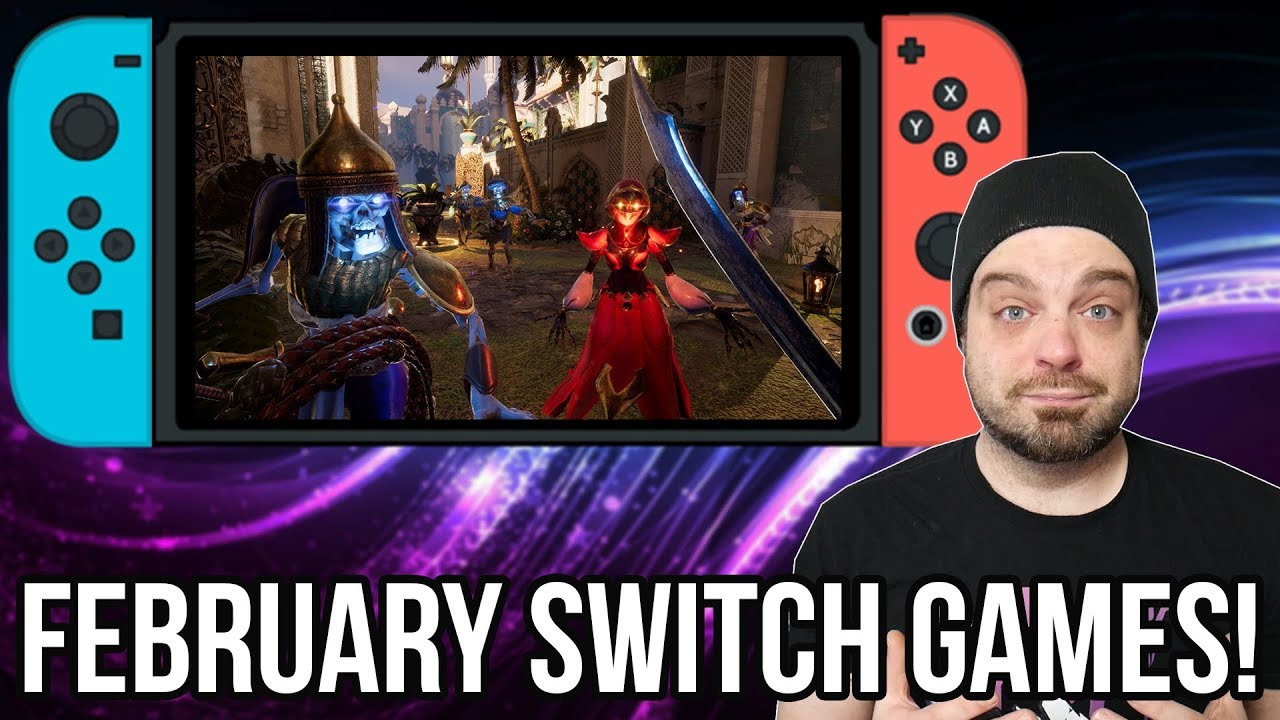 Best Upcoming Nintendo Switch Games For February 2019