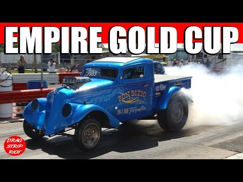 Ohio Outlaw AA Gassers Nostalgia Drag Racing Gold Cup Empire Dragway 2016