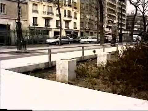 Les riders de Beauvais en session Street à Paris, avril 1996