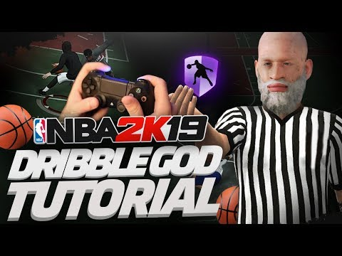 DRIBBLE GOD TUTORIAL W/ HANDCAM | EASIEST TUTORIAL TO BECOME A GOAT ON NBA 2K19