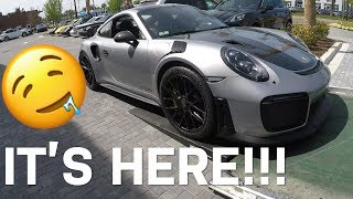 Taking Delivery of a GT2RS!!! And my Porsche track drive experience!!