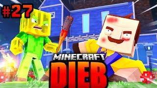 ICH bin JETZT DER NEUE NACHBAR?! - Minecraft DIEB #027 [Deutsch/HD]