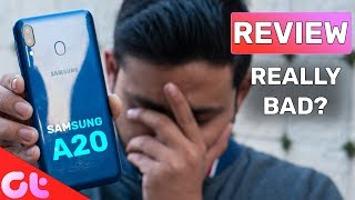 Samsung Galaxy A20 Review with Pros & Cons : Really Disappointing?| GT Hindi