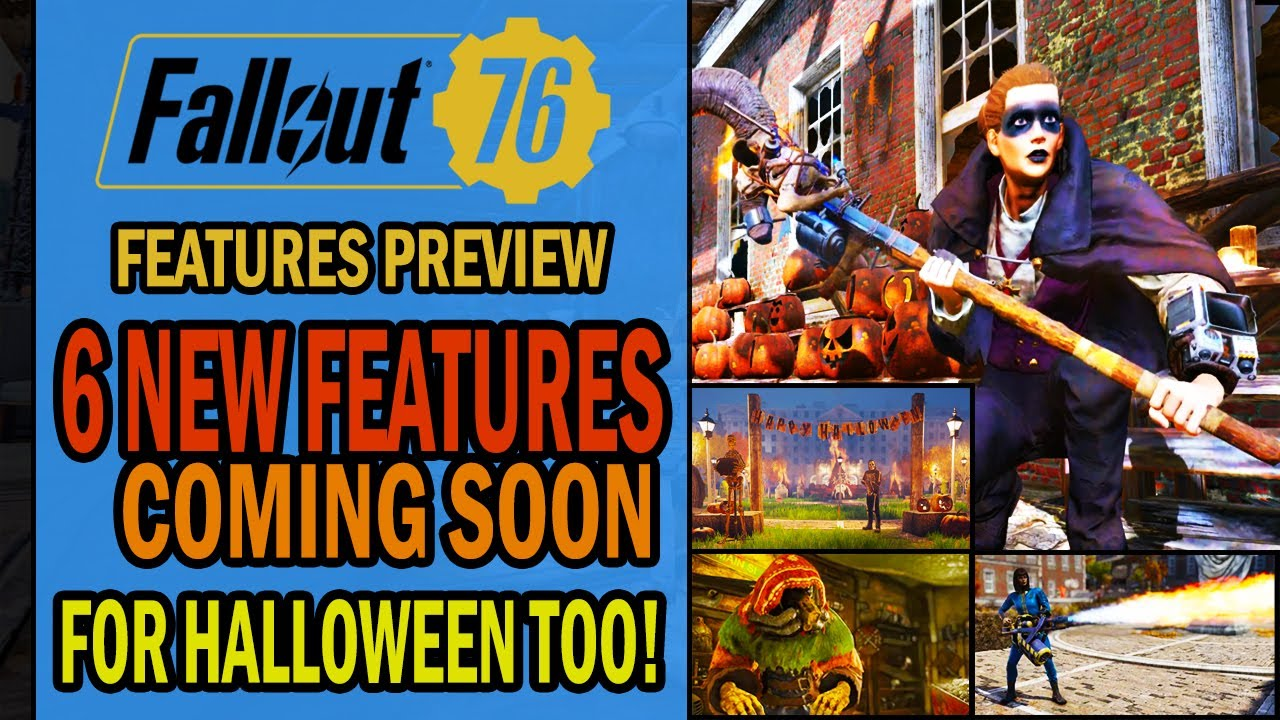 Fallout 4 Halloween Event 2020 Fallout 76   6 NEW FEATURES Coming Later in October 2019   New