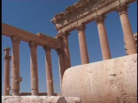 PALMYRA Syria. TIME TRAVEL.