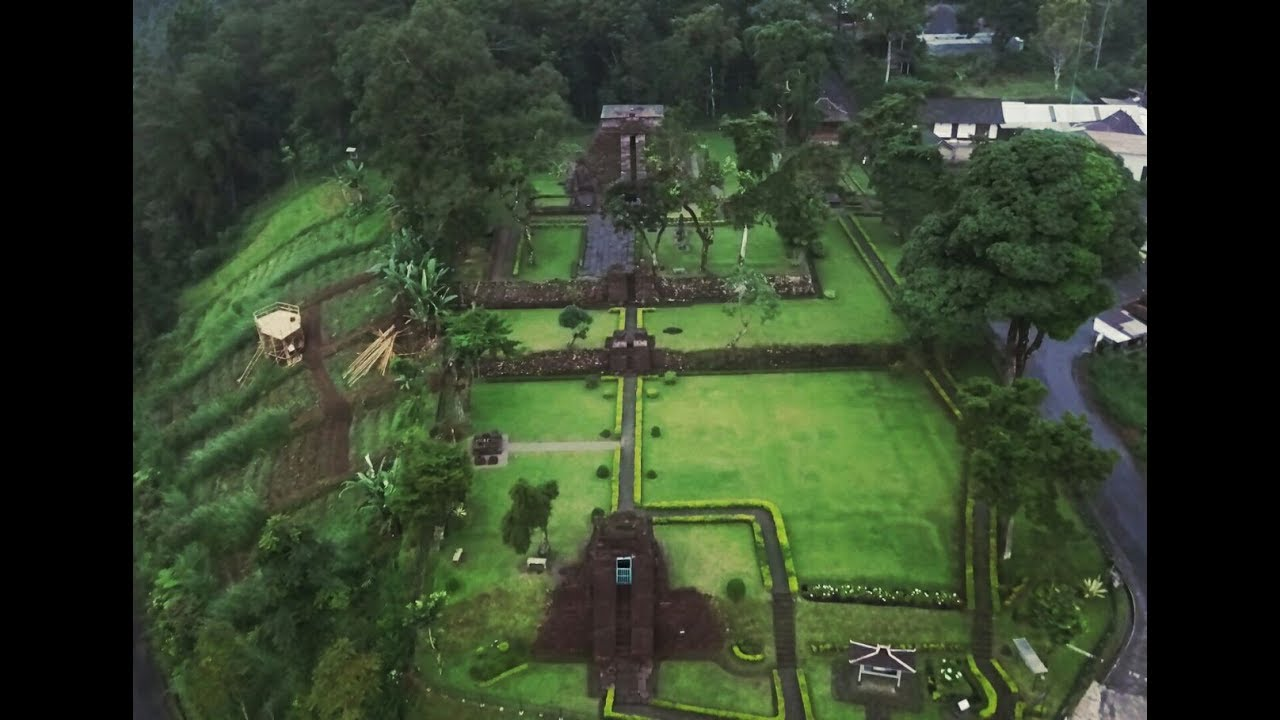 Candi Abang The Red Temple By Drone Berbah Sleman Di Yogyakarta Youtube
