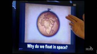 Why do we float in space?