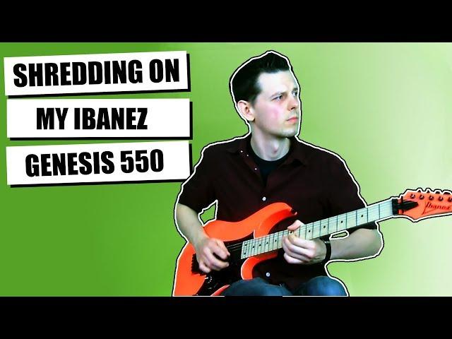 Just Shredding On An Ibanez RG550   2018 Genesis