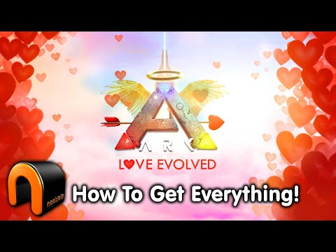 ARK Valentines Event HOW TO GET EVERYTHING!