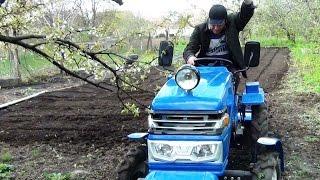 Минитрактор культивация почвы на ограниченных площадях