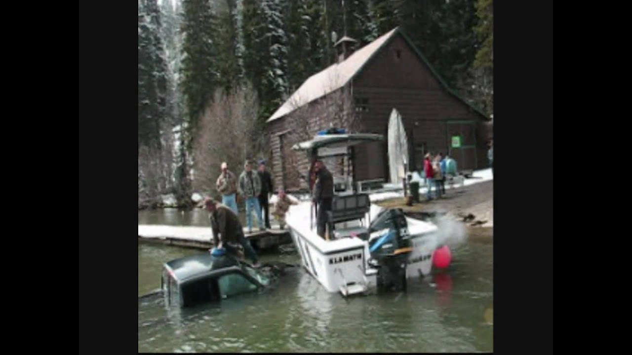 Opening day odell lake accident youtube for Lake merwin fishing