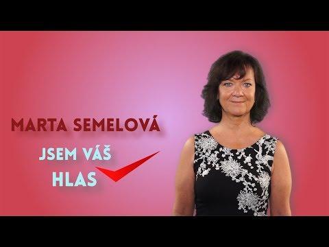 VIDEOSPOT: Marta Semelová (KSČM)