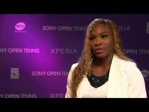 Sony Open Tennis Interview with Serena Williams Sony Open 2014 Champion