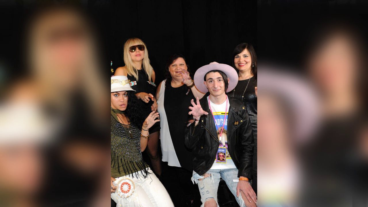 Meeting Gaga My Backstage Experience Youtube