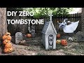 DIY Zero Tombstone - Nightmare Before Christmas
