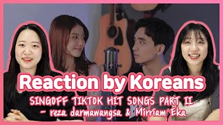 🇰🇷reaction SING-OFF TIKTOK SONGS Part II   Reaction by Koreans   EP24