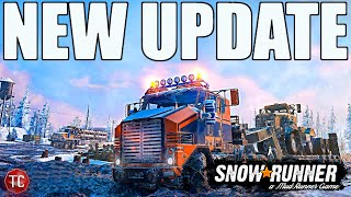 SnowRunner: Patch 5.0 UPDATE!! RELEASE DATE, ALL FEATURES, & MORE!