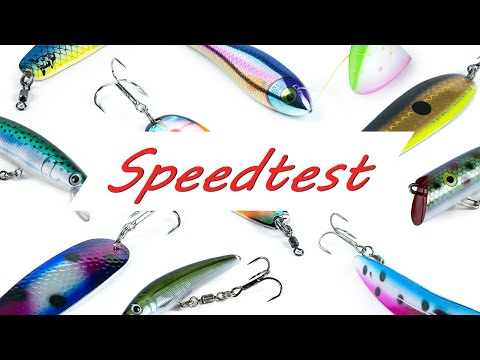 Speedtest For Trolling Lures And Teaser Heads