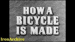 How A Bicycle Is Made (1945) - Raleigh Bicycle Factory