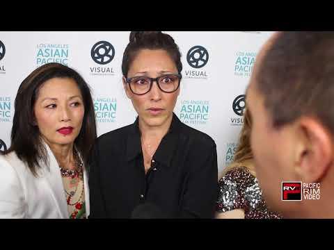 "Tamlyn Tomita & Christina Chang talks ""The Good Doctor"" ""Karate Kid"" & #LAAPFF2018"