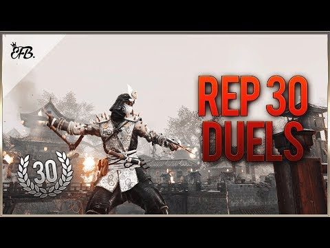 For Honor - Reputation 30 Shinobi Duels!