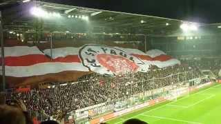 Das Herz von St. Pauli Hymne DFB Pokal Millerntor Stadion 28.10.2014   Borussia Dortmund BVB