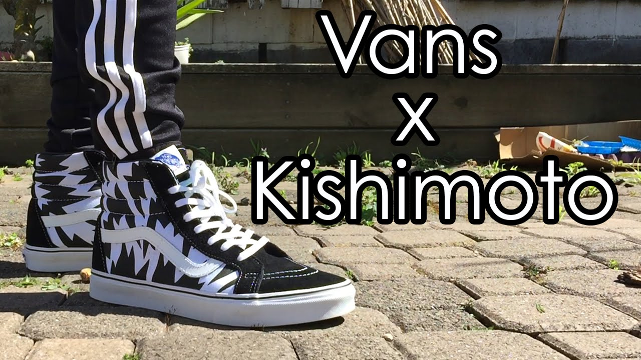 Vans X Eley Kishimoto | Sk8 Hi Reissue | On feet with Different Bottoms