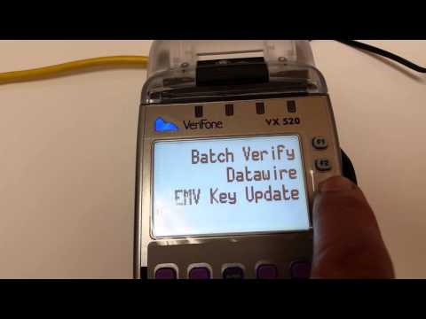 Getting rid of Verifone VX520 CAPK file not found error message