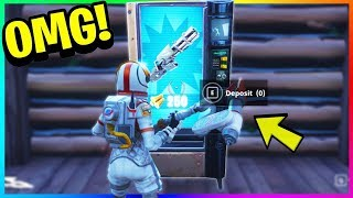 TRADE RESOURCES FOR ITEMS! *NEW* Vending Machine GAMEPLAY in FORTNITE! (Fortnite Battle Royale)
