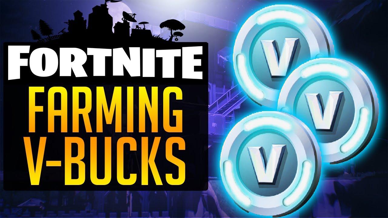 Fortnite How To Farm V Bucks How To Get Vbucks Fastest Way To Get