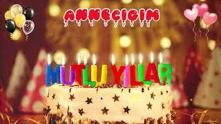 Doğum günün kutlu olsun ANNECİĞİM, İyi ki doğdun Mutlu Yıllar Sana, İsme Özel Doğum Günü Şarkısı