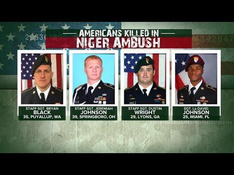 Questions surround Niger ambush that killed 4 U.S. soldiers