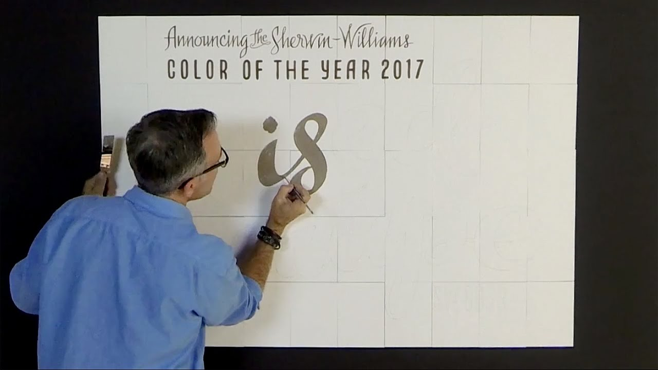 The Sherwin Williams 2017 Color Of The Year Youtube