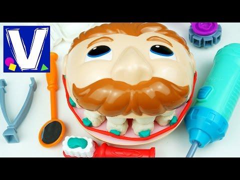 видео: 👦 Плей До мистер Зубастик Играем в стоматолога c Плей До Зубастик PlayDoh Dr. Drill and Fill