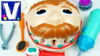 Плей До мистер Зубастик Играем в стоматолога c Плей До Зубастик PlayDoh Dr. Drill and Fill