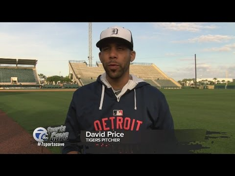 One-on-one with Detroit Tigers starting pitcher David Price