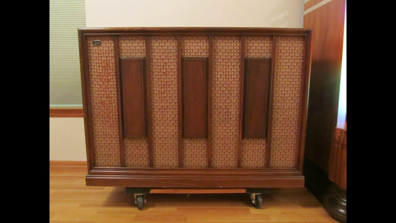 Leslie Model 600 Speaker Cabinet - A Video Tour - YouTube