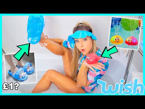 Testing Weird Bath Toys From Wish ! Success Or Disaster !