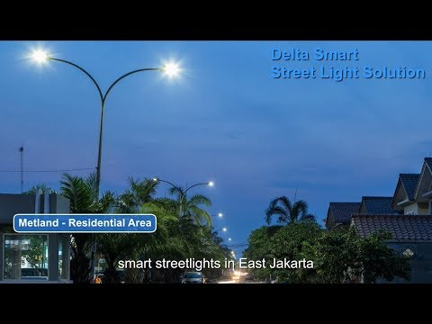 Delta's Smart LED Streetlight Solution Lights Up Smart Jakarta