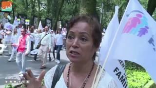 حول العالمفن و منوعات  مظاهرة ضد زواج المثليين في المكسيك