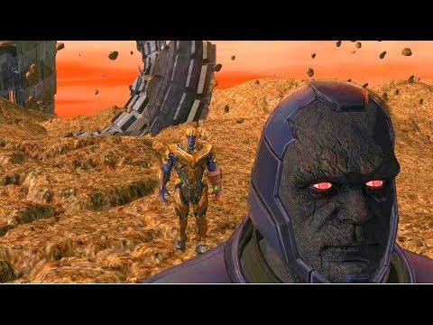Darkseid V Thanos On Titan Demo Clip