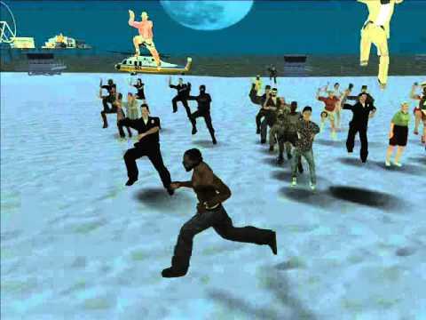 Gta San Andreas Gangnam style mod ^hahahaha xDDDD