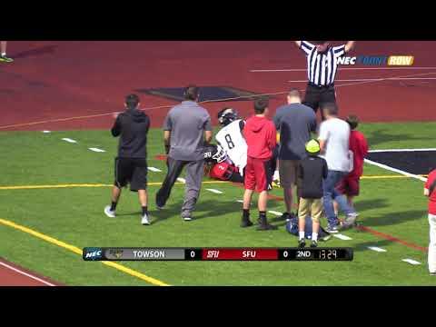 Red Flash Football vs Towson Highlights