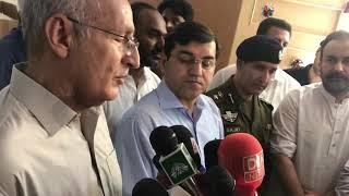 Ch Mehdi Hassan Bhatti Media Talk on Inauguration of new block Dialysis's Centre DHQ Hafizabad