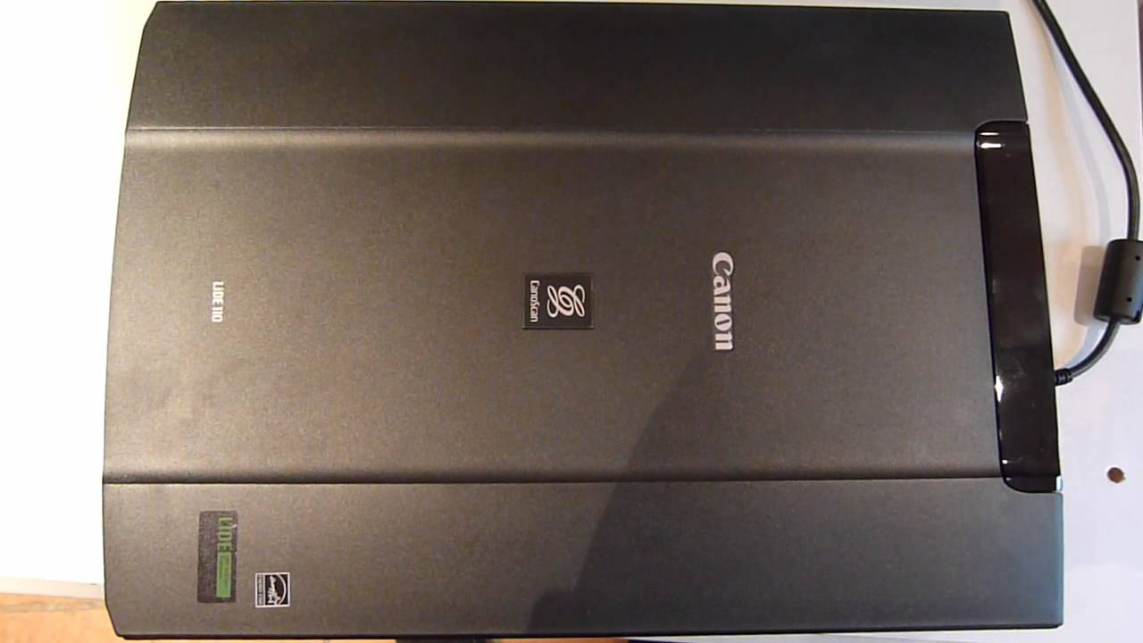Canon scanner lide 110 unboxing and testing mac osx 10 apple.