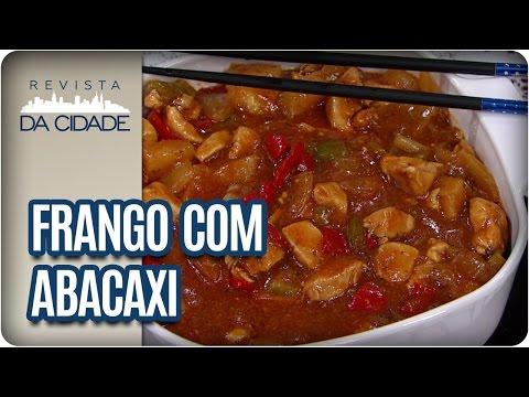 Receita de Frango Agridoce com Abacaxi - Revista da Cidade (20/04/2017)