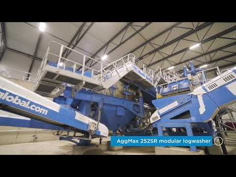 250TPH C&D Waste Recycling Wet Processing Plant in Norway - CDE and AF Decom
