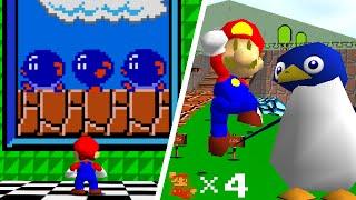 Super Mario 64 NES Edition (Texture Pack). ᴴᴰ