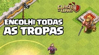 MINIATURA DE TODAS AS TROPAS CLASH OF CLANS