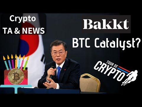Korea Approves Banks Working With Crypto Exchanges!  Bakkt Catalyst Bitcoin Needs! India New China?